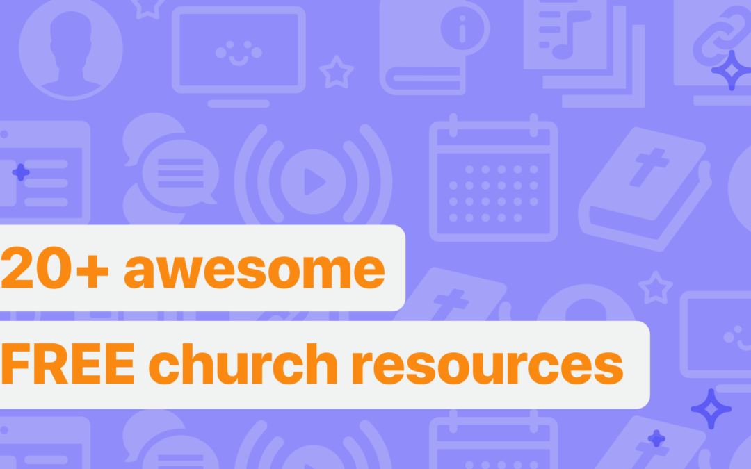 20+ awesome FREE church resources